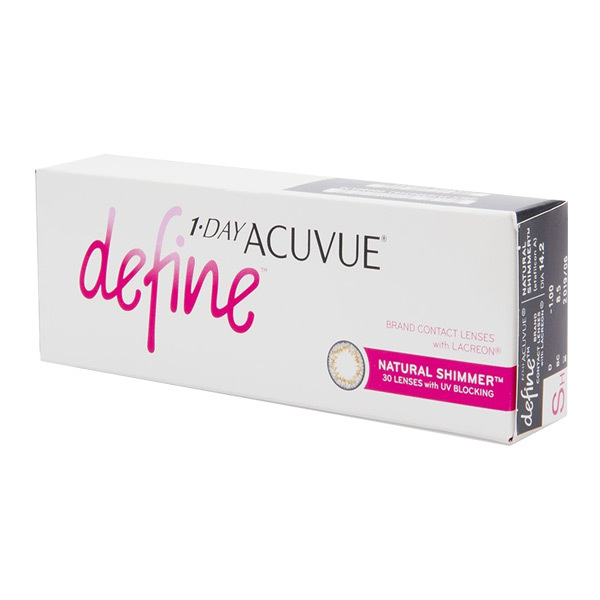 1 Day Acuvue Define 30 Pack - All Colors